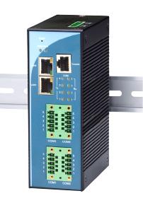 過酷環境仕様シリアルデバイスサーバ|<p>SE5404Dシリーズ</p>